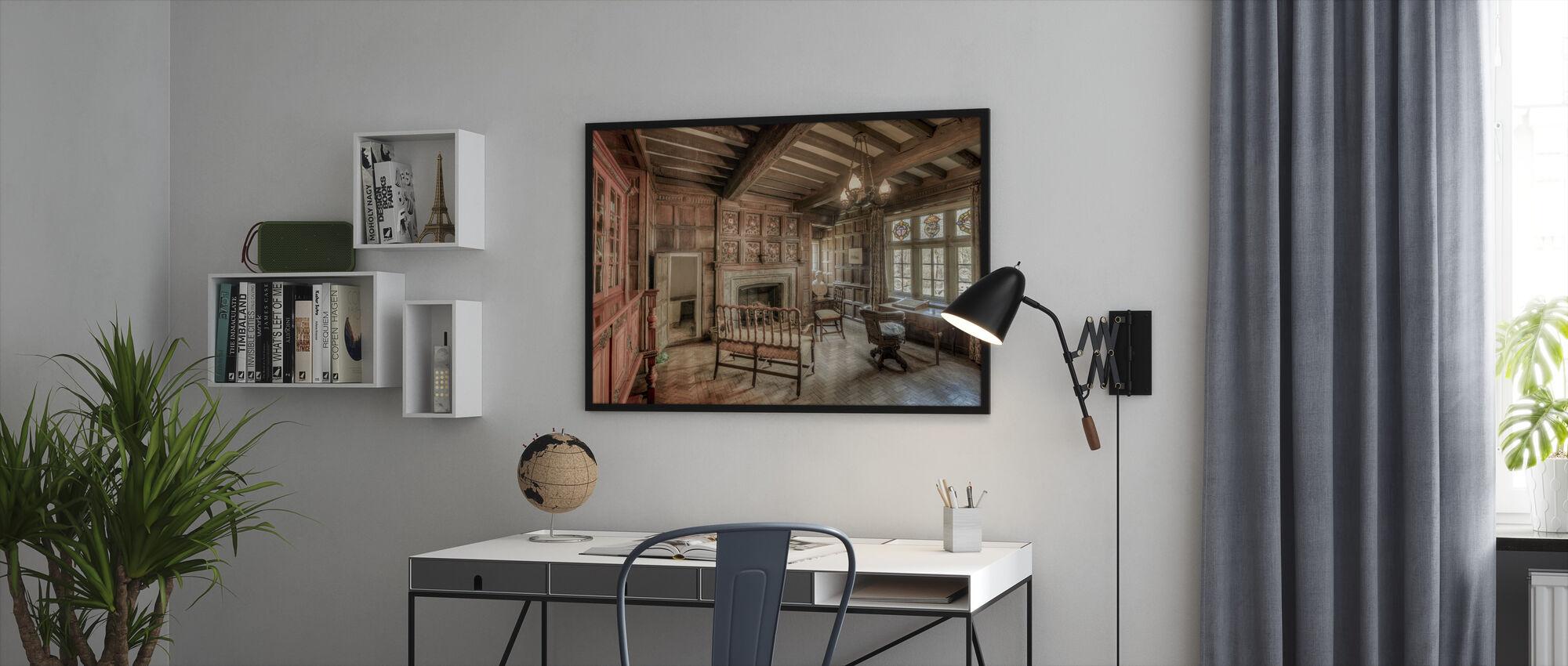 Morning Room - Framed print - Office