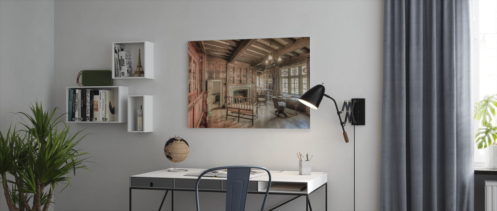 Morning Room - Canvas print - Office