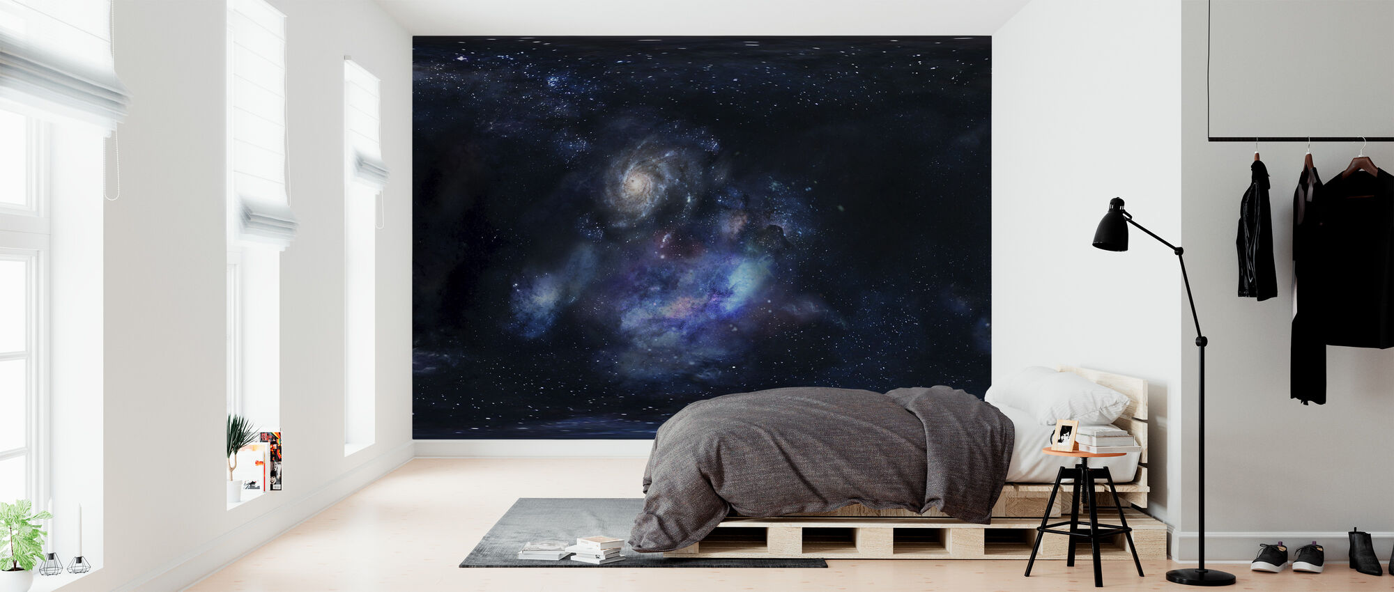Outer Space - Wallpaper - Bedroom