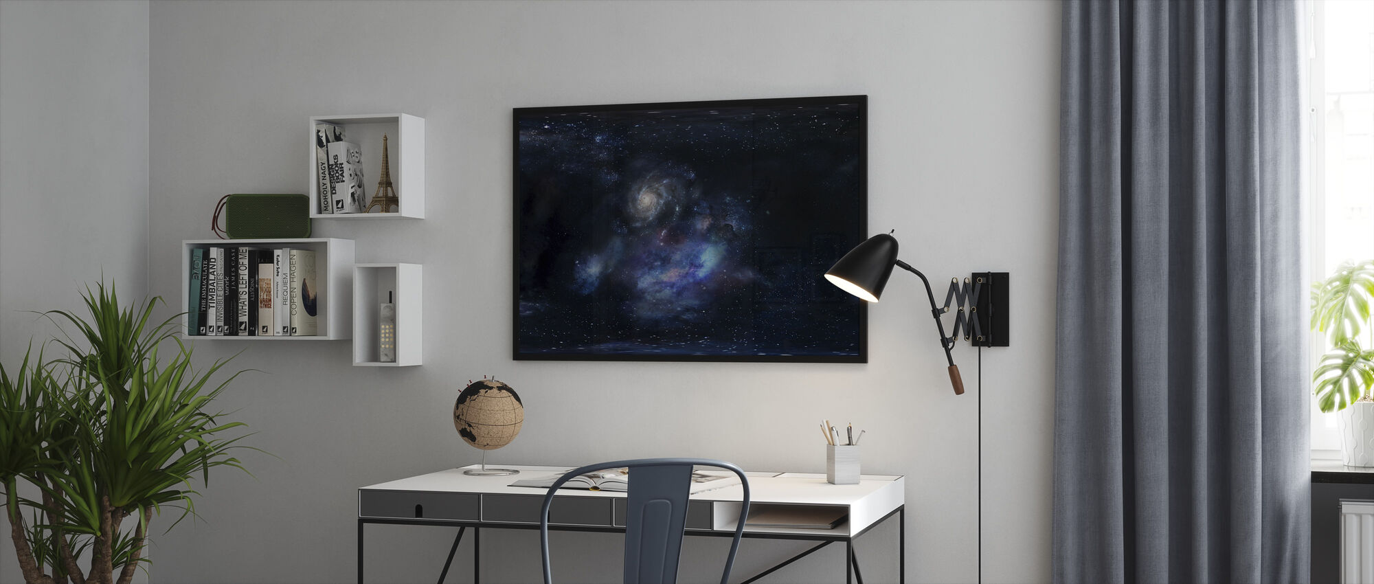 Outer Space - Framed print - Office