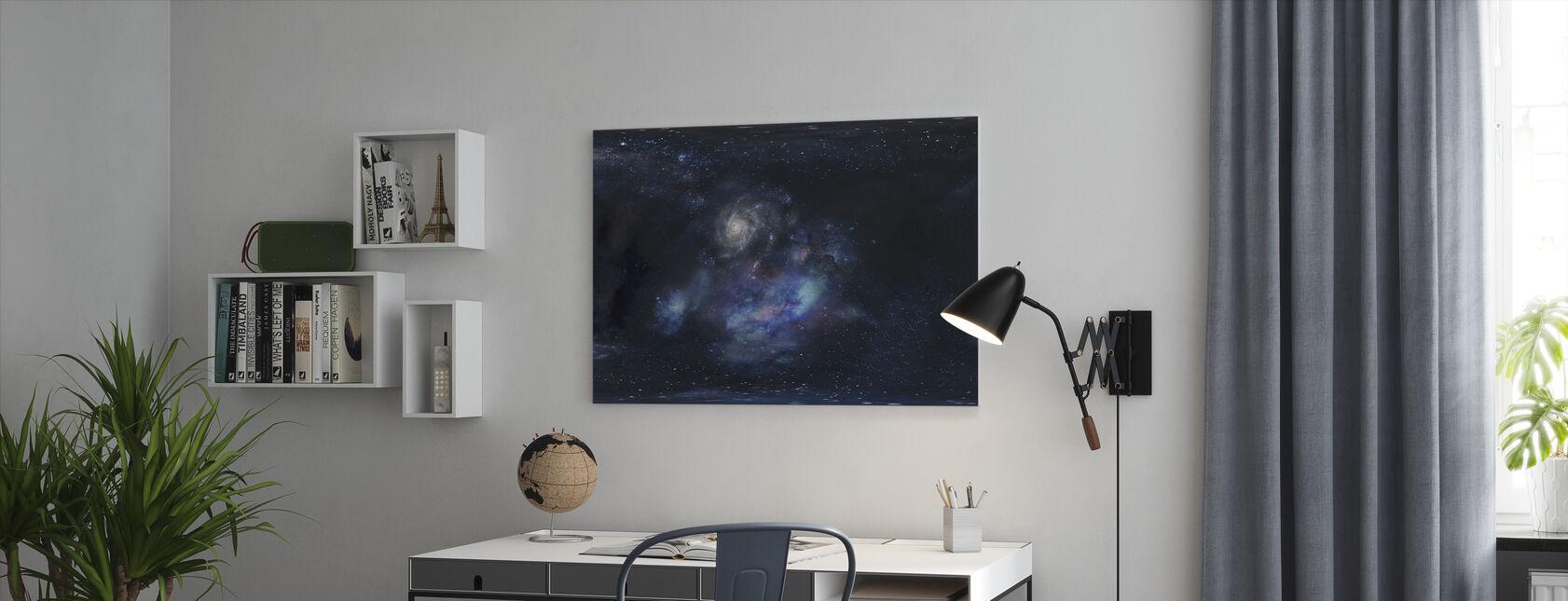 Ulompi avaruus - Canvastaulu - Toimisto