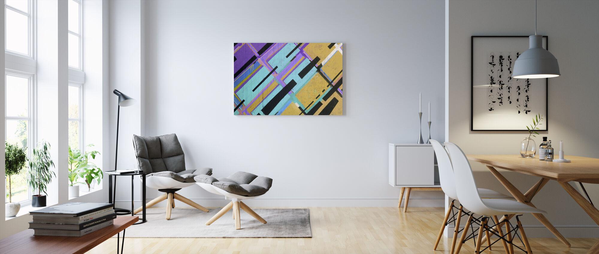 Colorful Street Art - Canvas print - Living Room