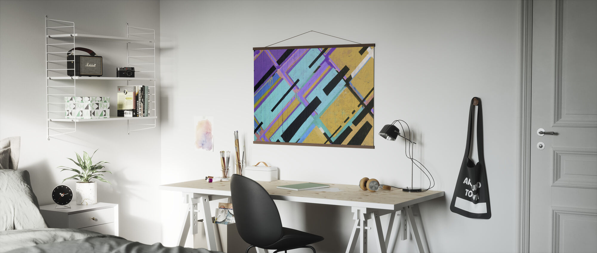 Colorful Street Art - Poster - Office