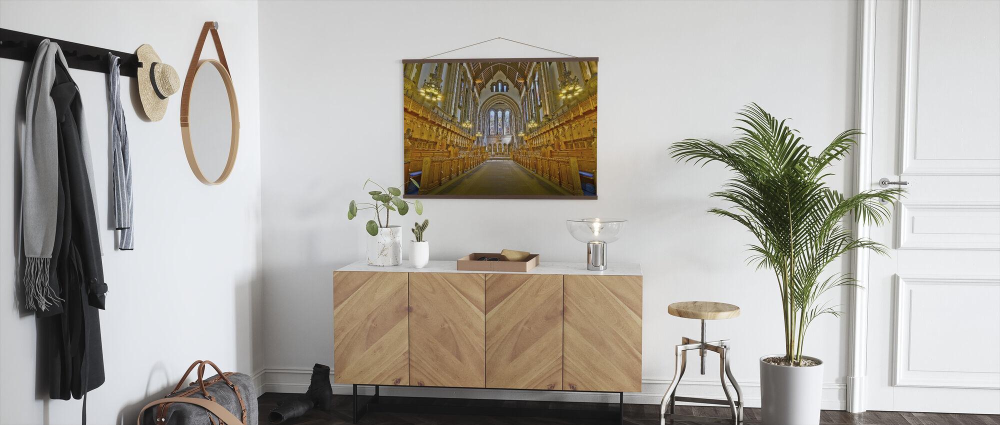 Glasgow Chapel - Poster - Hallway