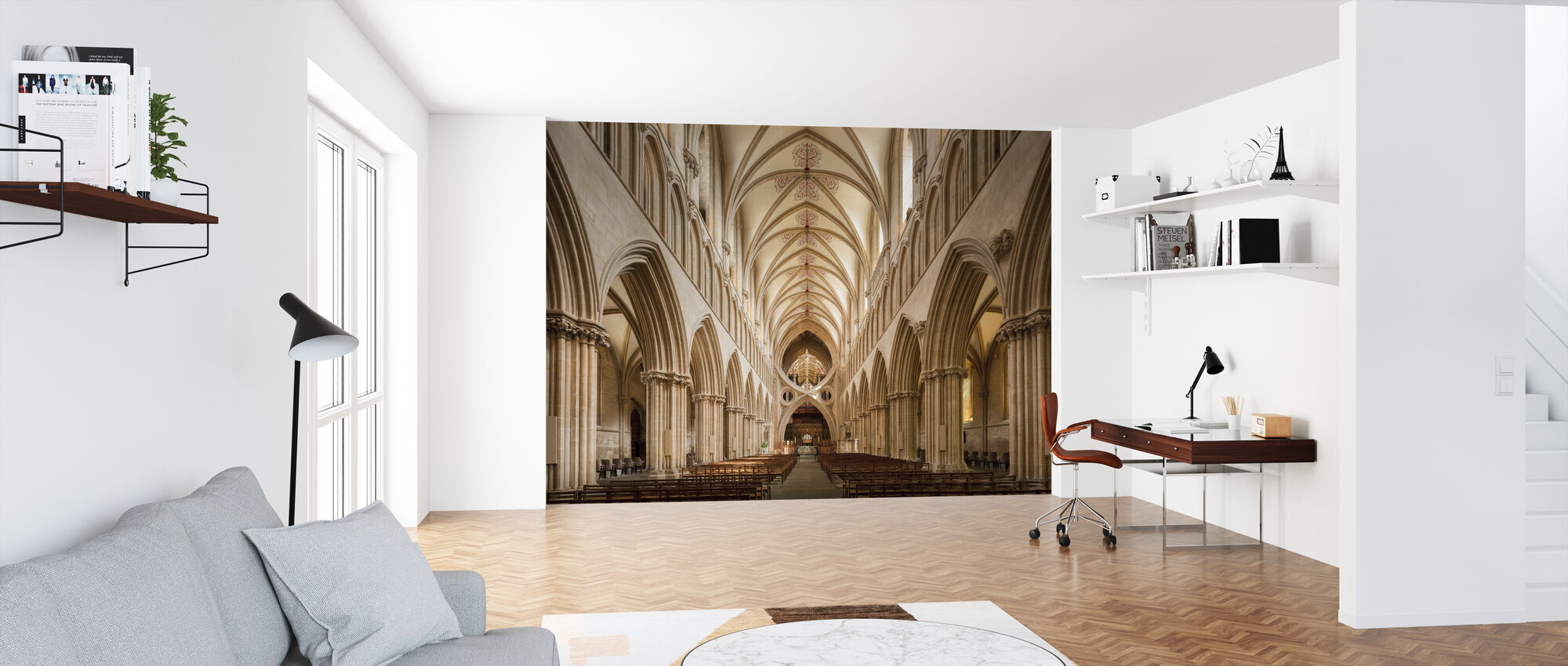 Wells Cathedral - Wallpaper - Office