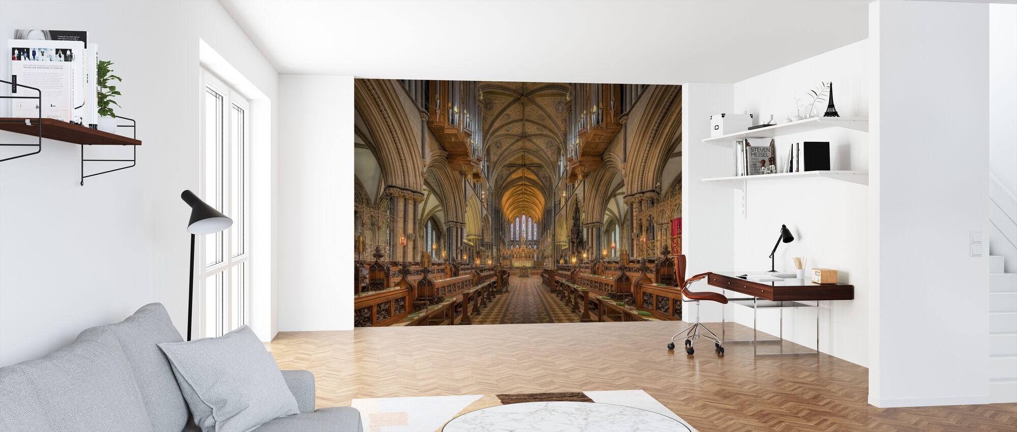 Cathedral Choir - Wallpaper - Office