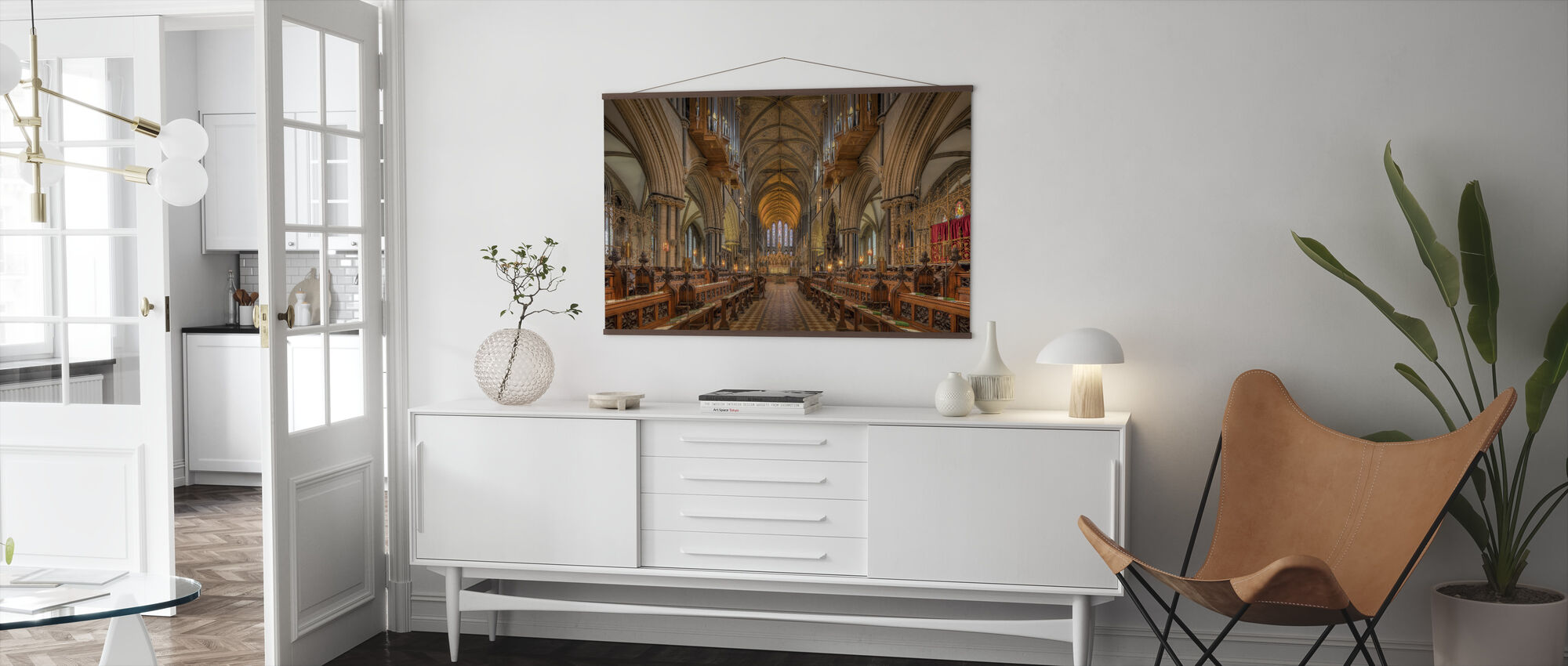 Cathedral Choir - Poster - Living Room