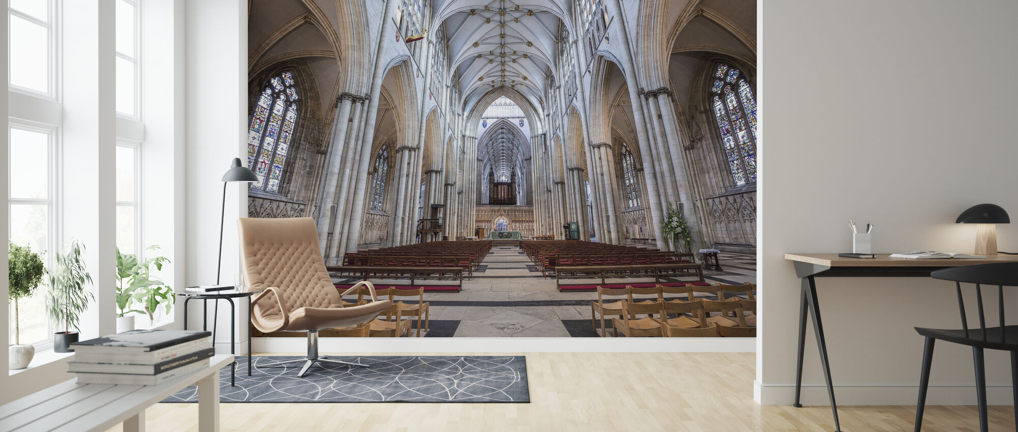 York Cathedral - Wallpaper - Living Room