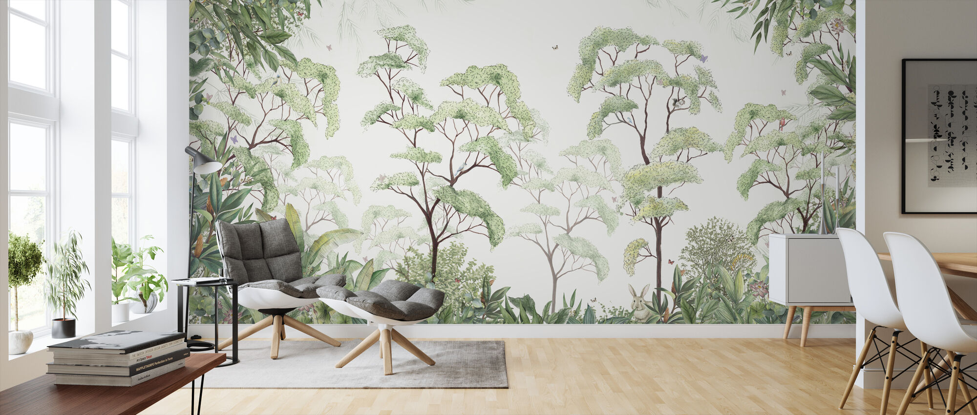 Forest - Wallpaper - Living Room
