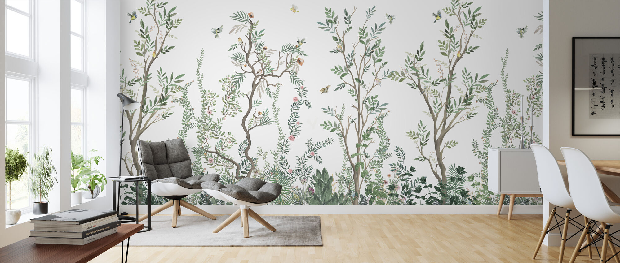 Woodlands - Wallpaper - Living Room