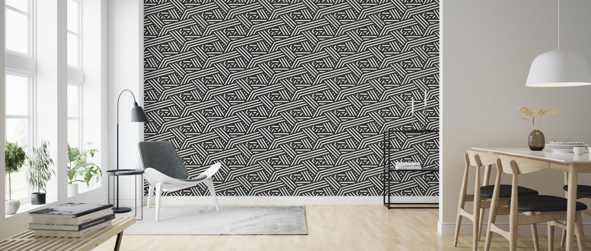Stitches - Wallpaper - Living Room
