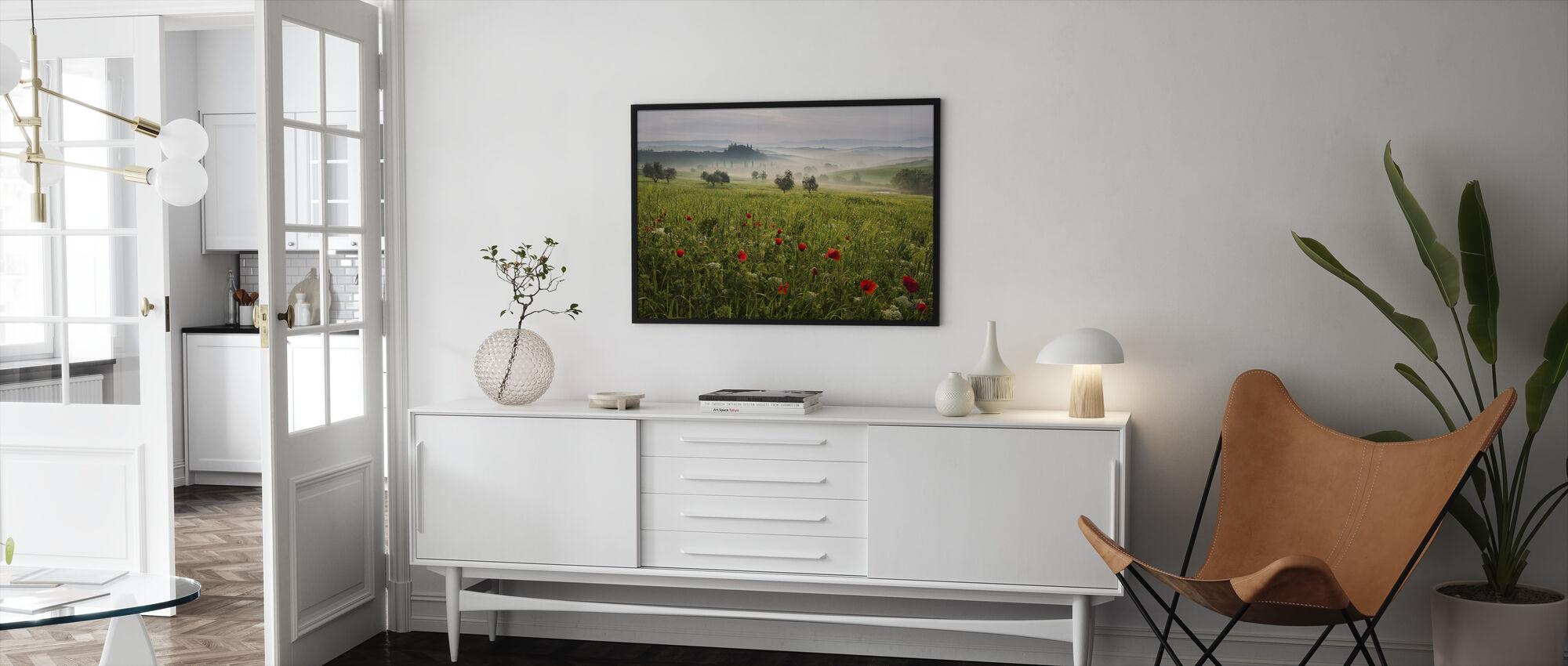 Toscaanse lente - Ingelijste print - Woonkamer