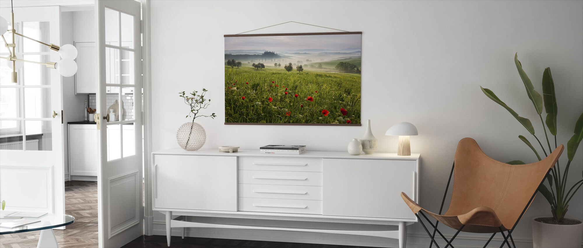 Toscaanse lente - Poster - Woonkamer