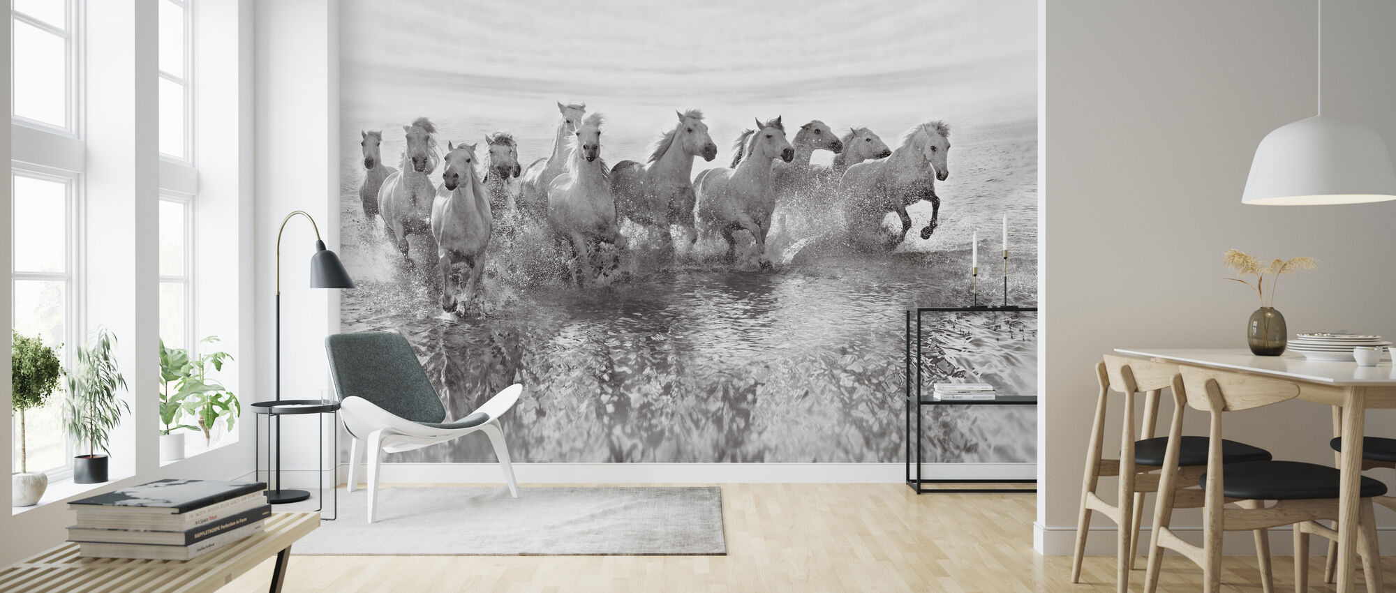 Illusion of Power (13 horse power though) - Wallpaper - Living Room