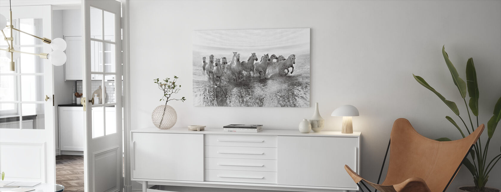 Illusion of Power (13 horse power though) - Canvas print - Living Room