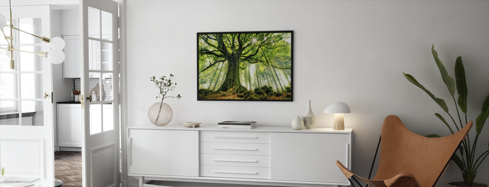 Ponthus' Beech - Kehystetty kuva - Olohuone