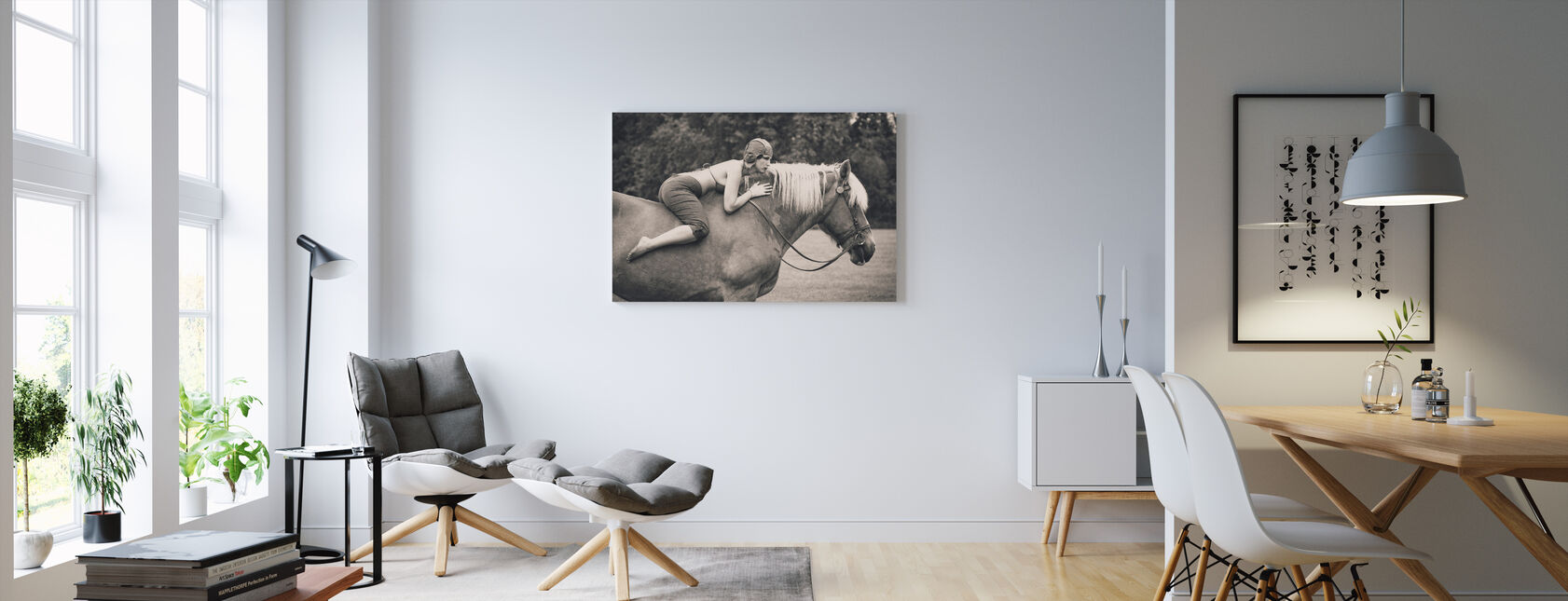 Off to the Races - Canvas print - Living Room