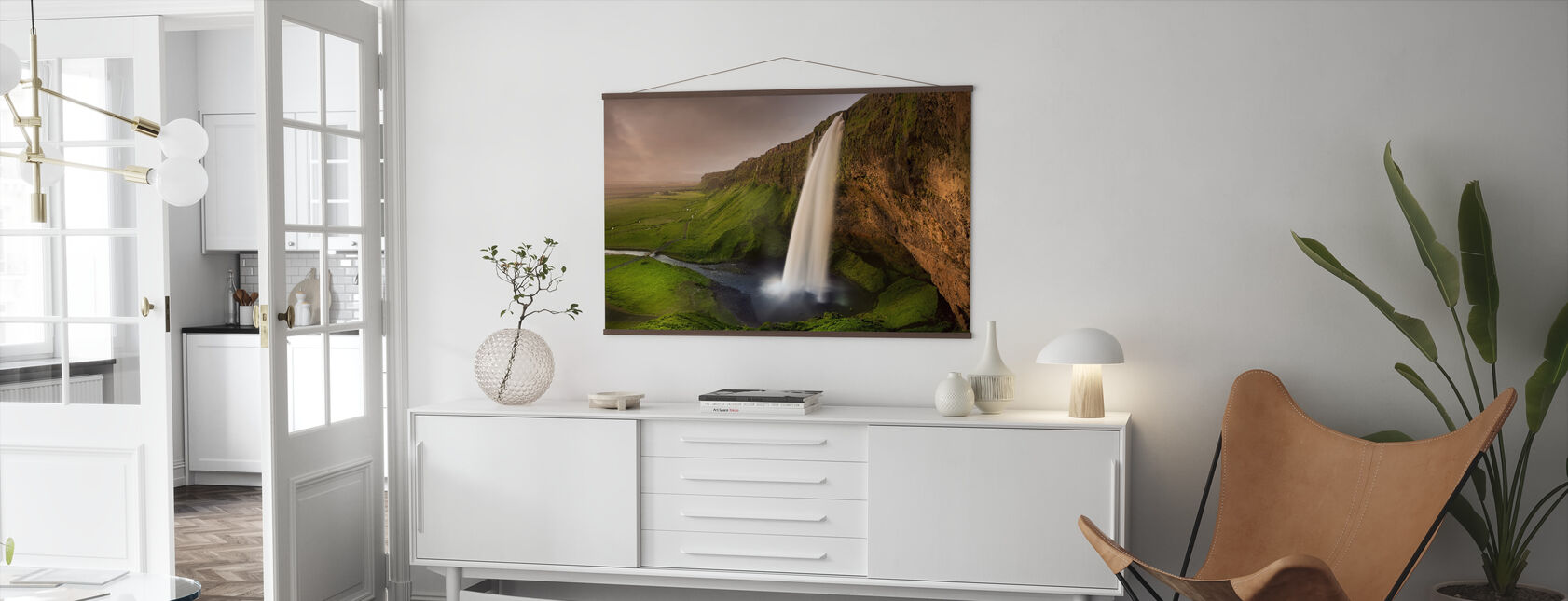 Seljalandsfoss - Poster - Woonkamer
