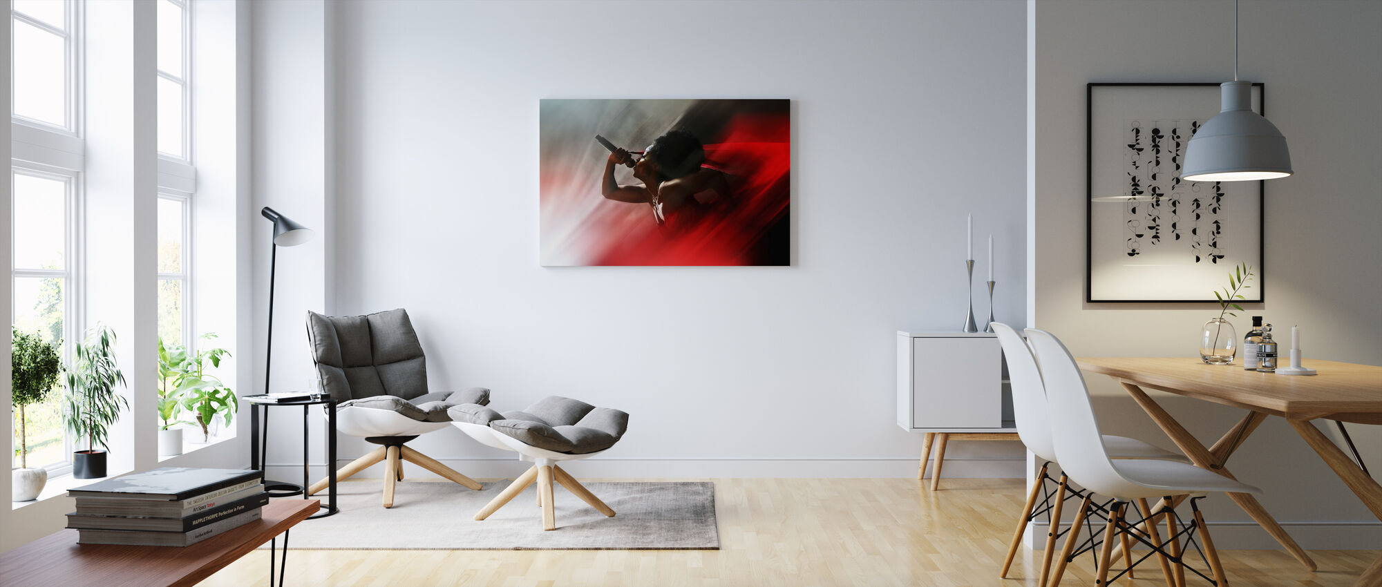 Blood Like Lemonade - Canvas print - Living Room