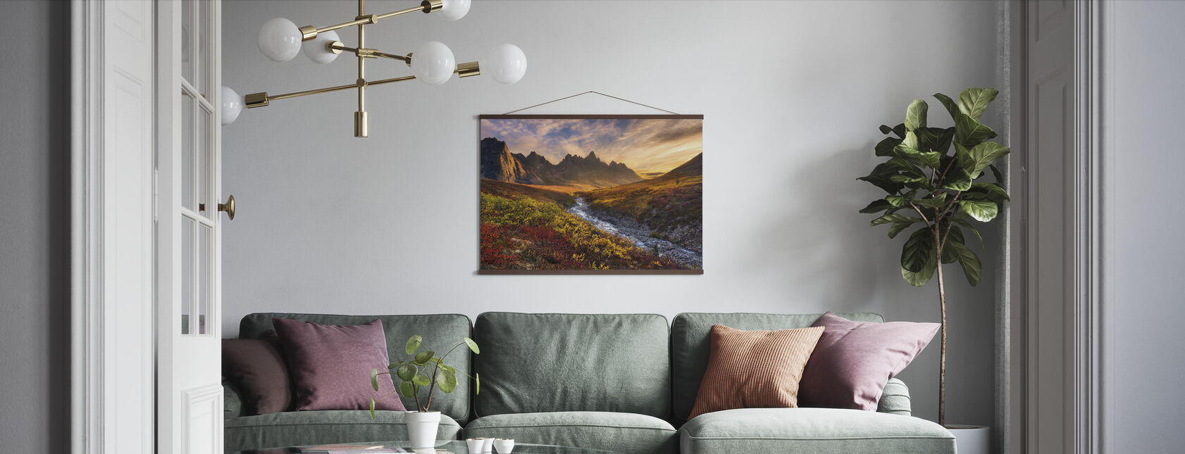 Bjerg Paradise - Plakat - Stue