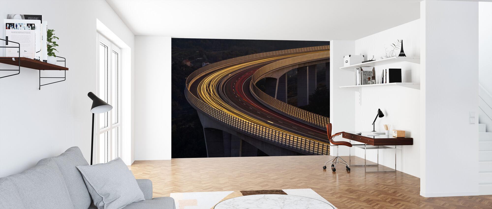 Viadukt Crni Kal - Tapet - Kontor