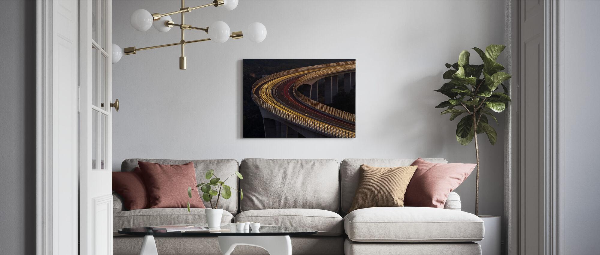 Viadukt Crni Kal - Canvas print - Living Room