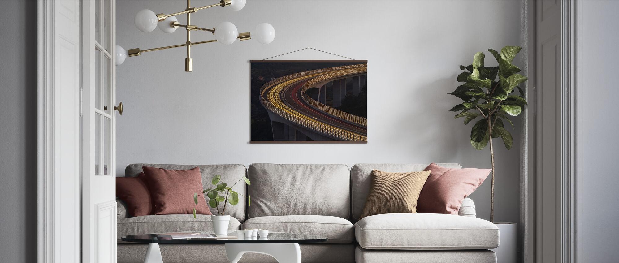 Viadukt Crni Kal - Poster - Living Room