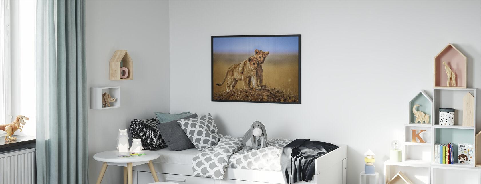 Brothers for Life - Framed print - Kids Room