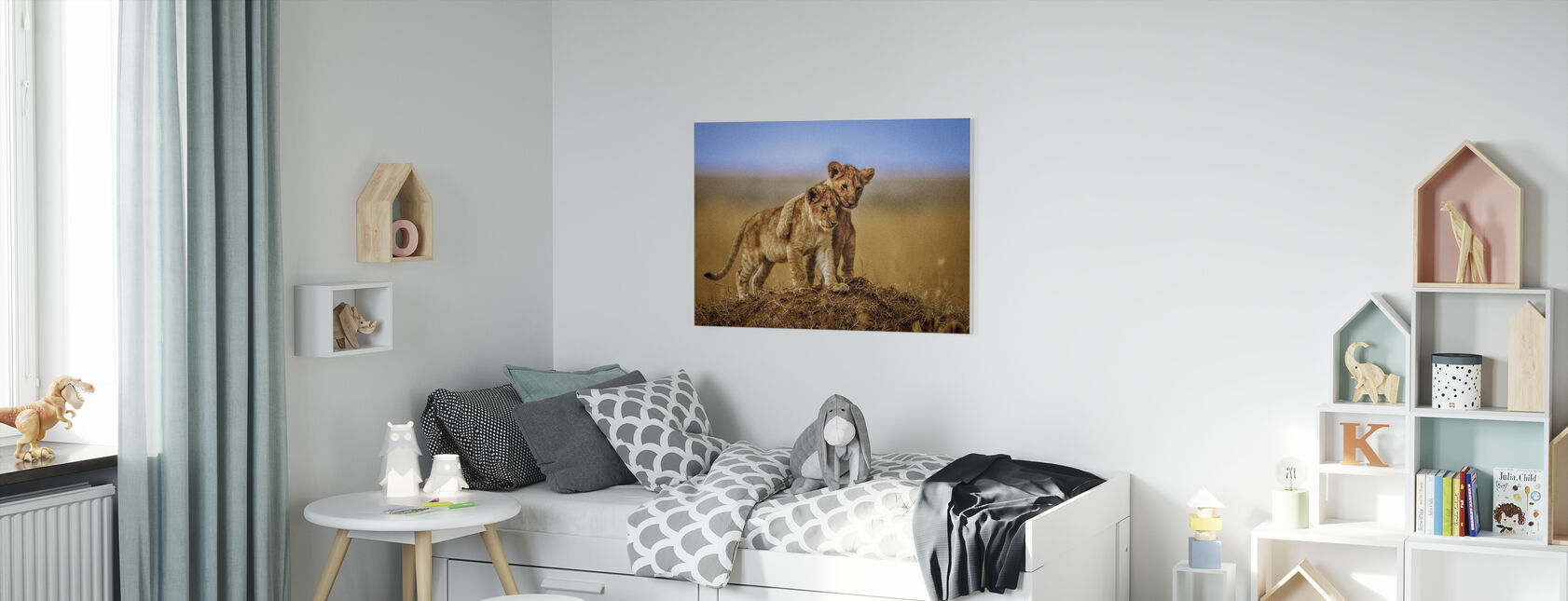 Brothers for Life - Canvas print - Kids Room