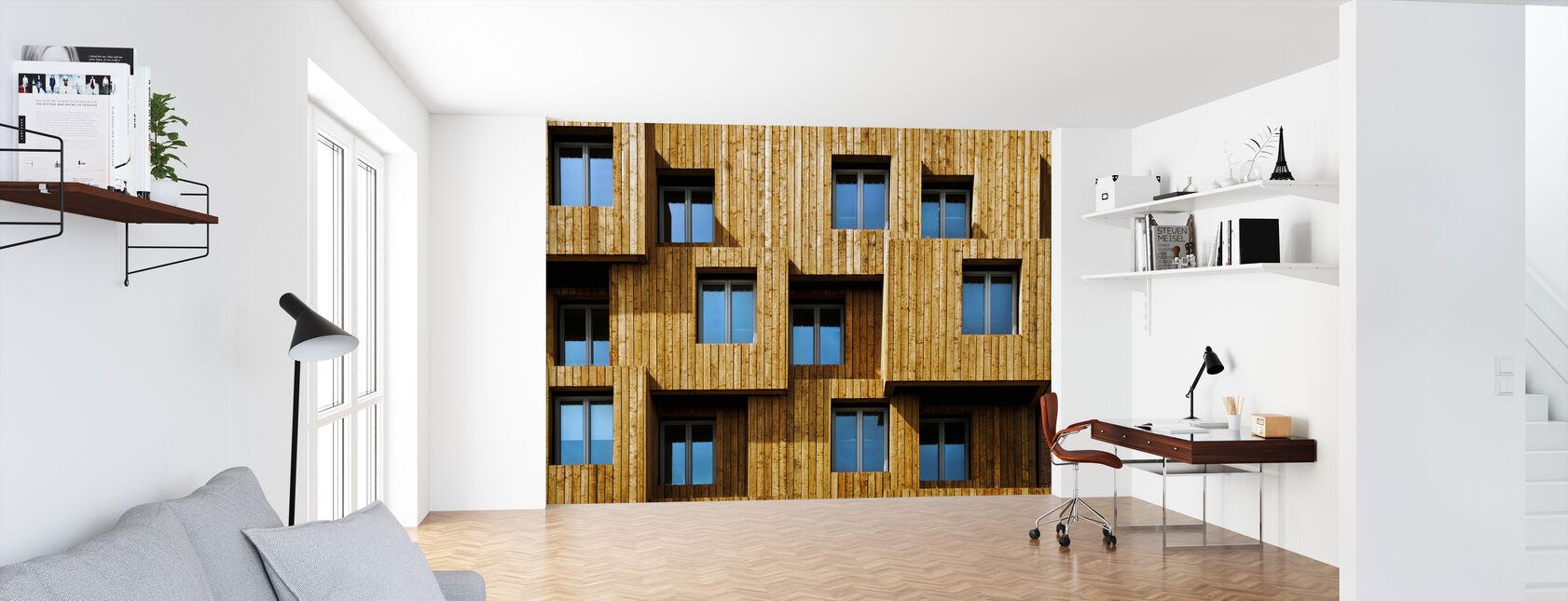 Kleine Dozen - Behang - Kantoor