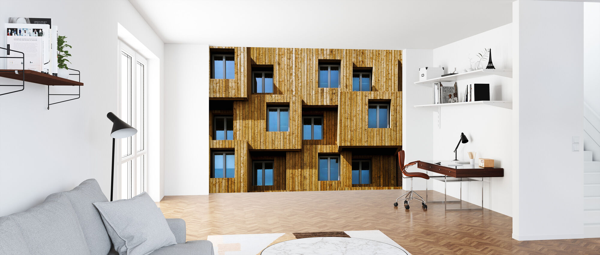 Little Boxes - Wallpaper - Office