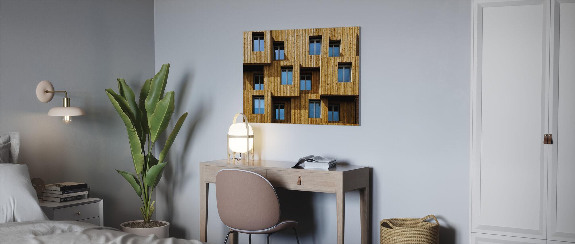 Kleine Boxen - Leinwandbild - Büro