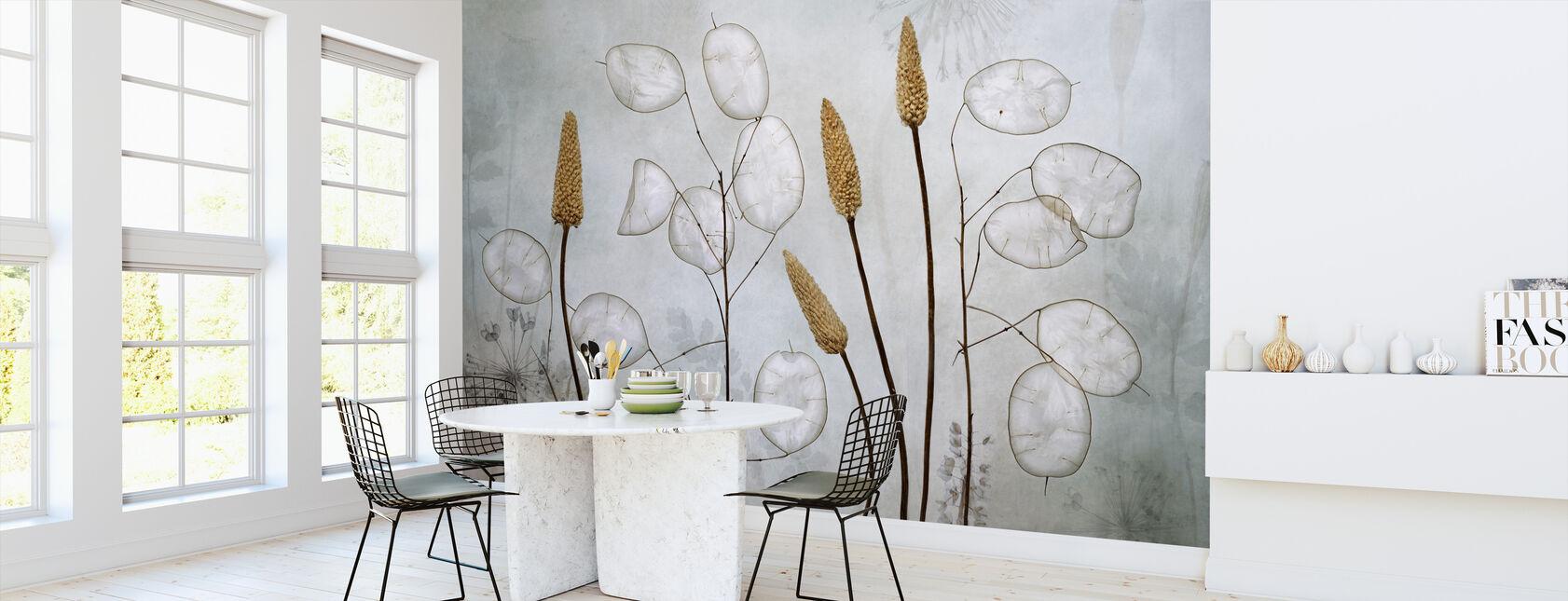 Lunaria - Behang - Keuken