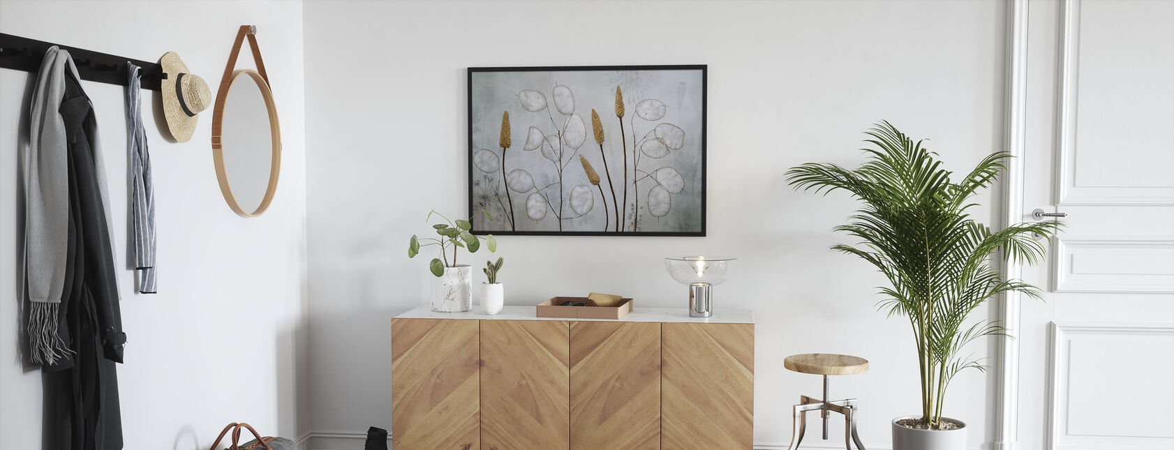 Lunaria - Gerahmtes bild - Flur