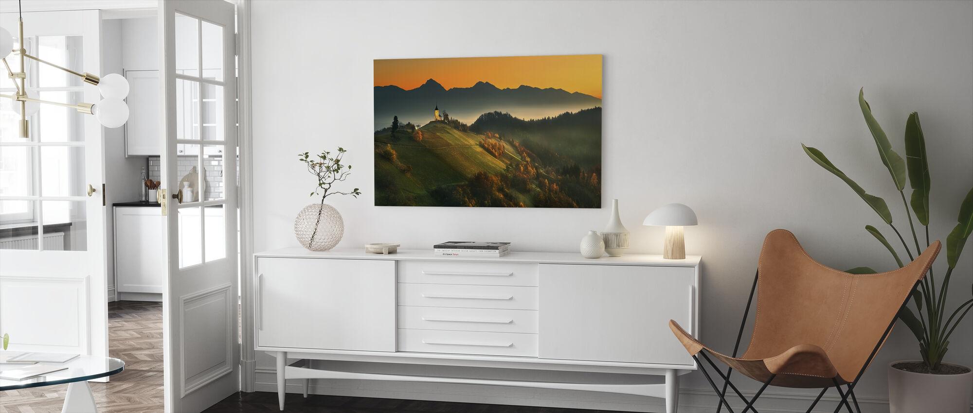 Slovenian Autumn - Canvas print - Living Room