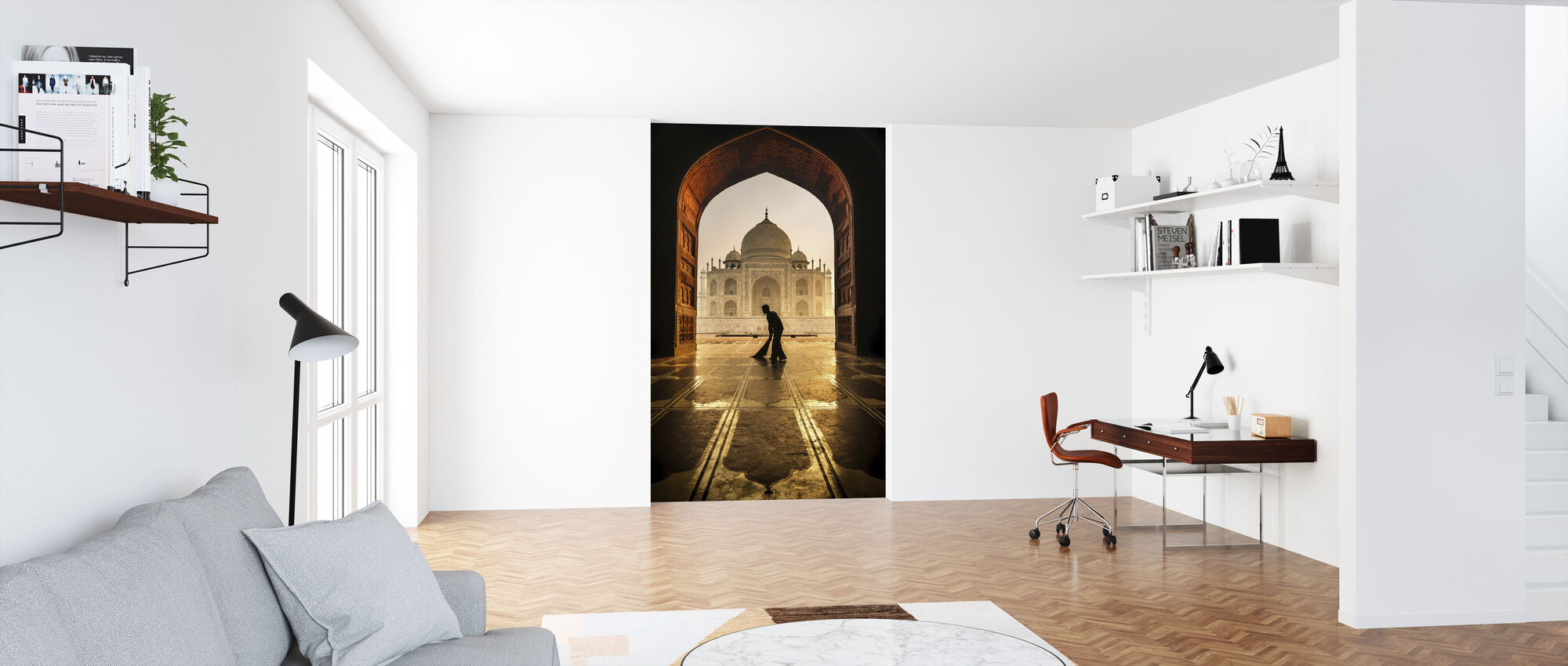 Taj Mahal Cleaner - Wallpaper - Office