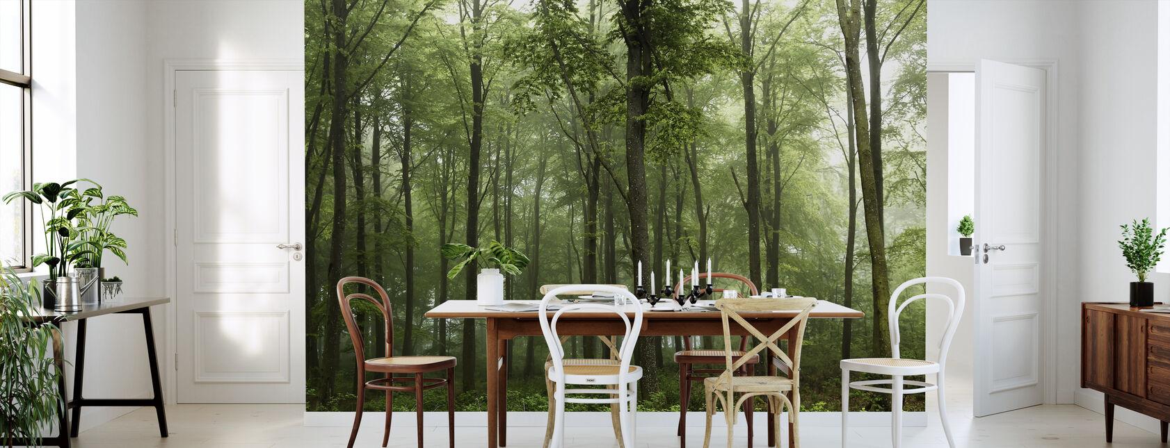 Metsä - Tapetti - Keittiö