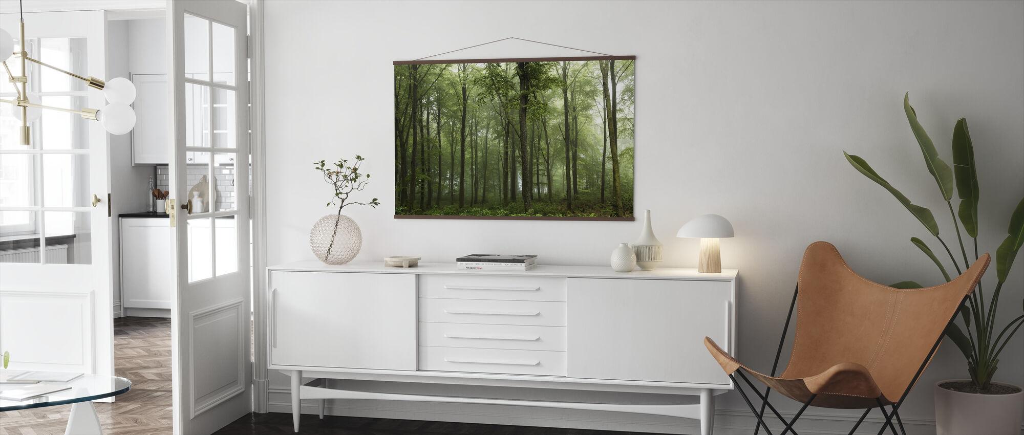 Skogen - Plakat - Stue