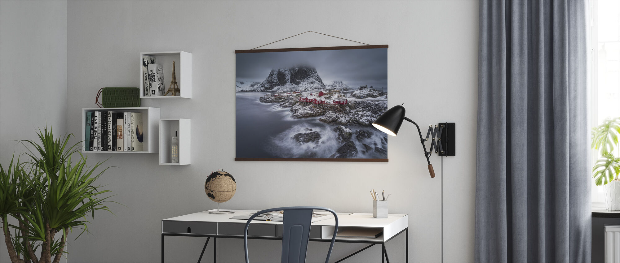 Winter Lofoten Islands - Plakat - Kontor