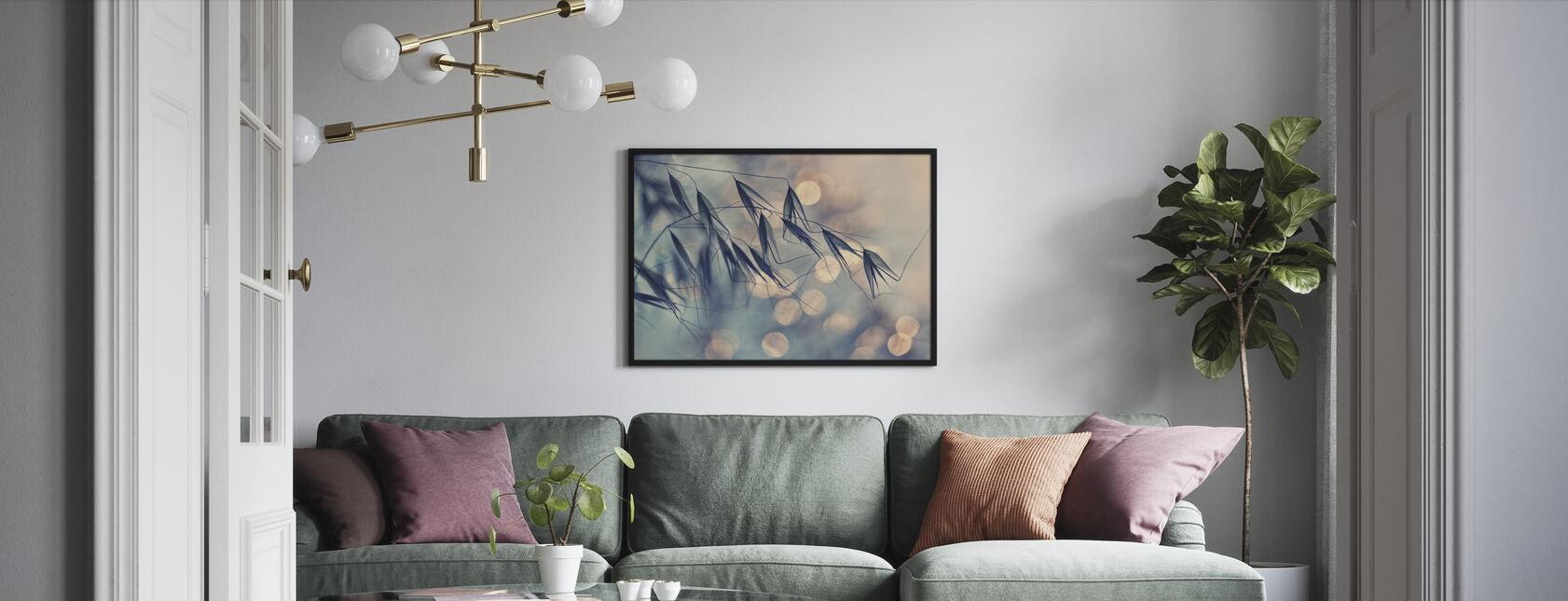 Lässt Licht - Gerahmtes bild - Wohnzimmer