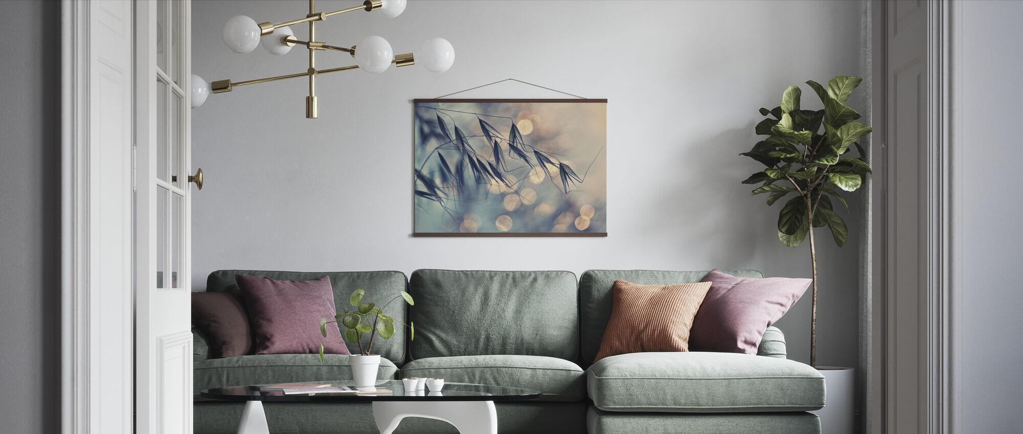 Leaves Light - Poster - Living Room