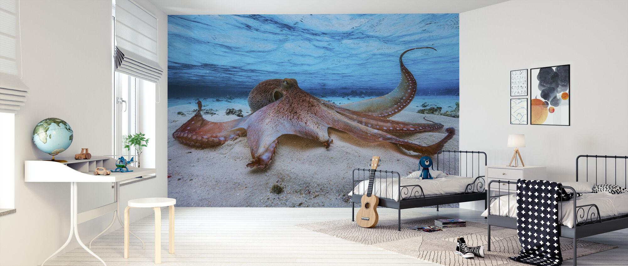 Octopus - Wallpaper - Kids Room