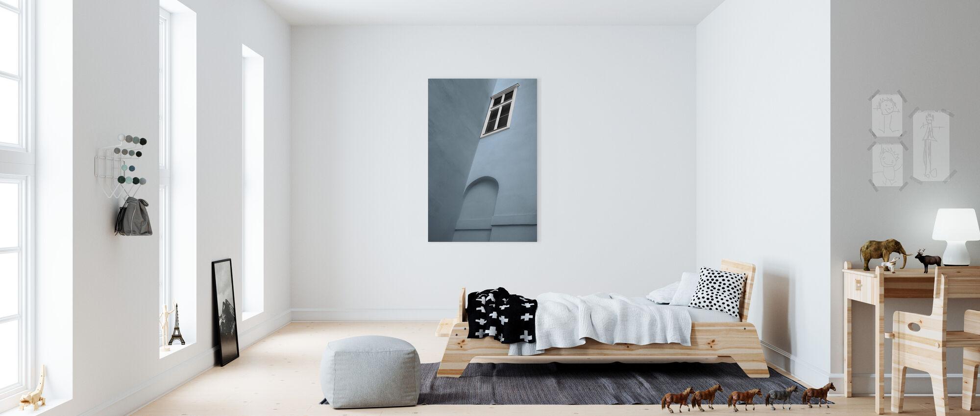 White Window - Canvas print - Kids Room