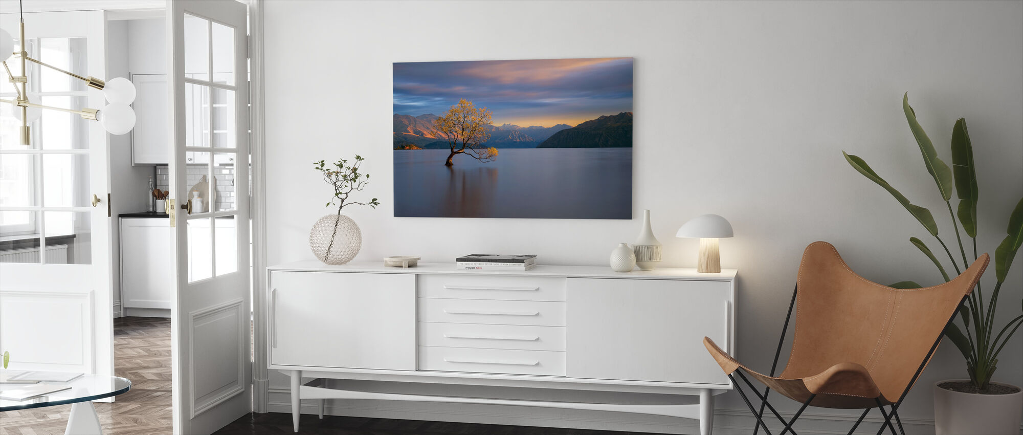 Morning Glow - Canvas print - Living Room