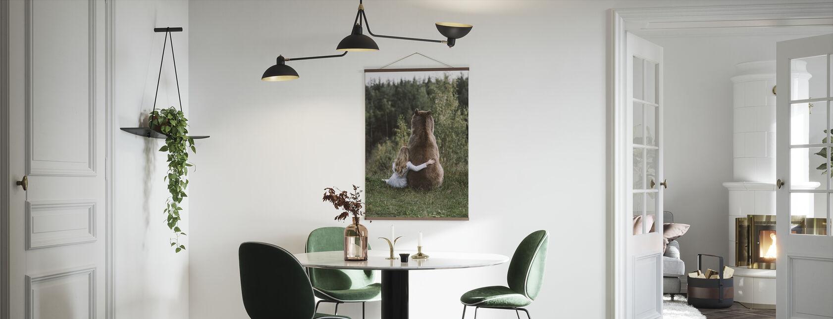 Bären-Umarmung - Poster - Küchen