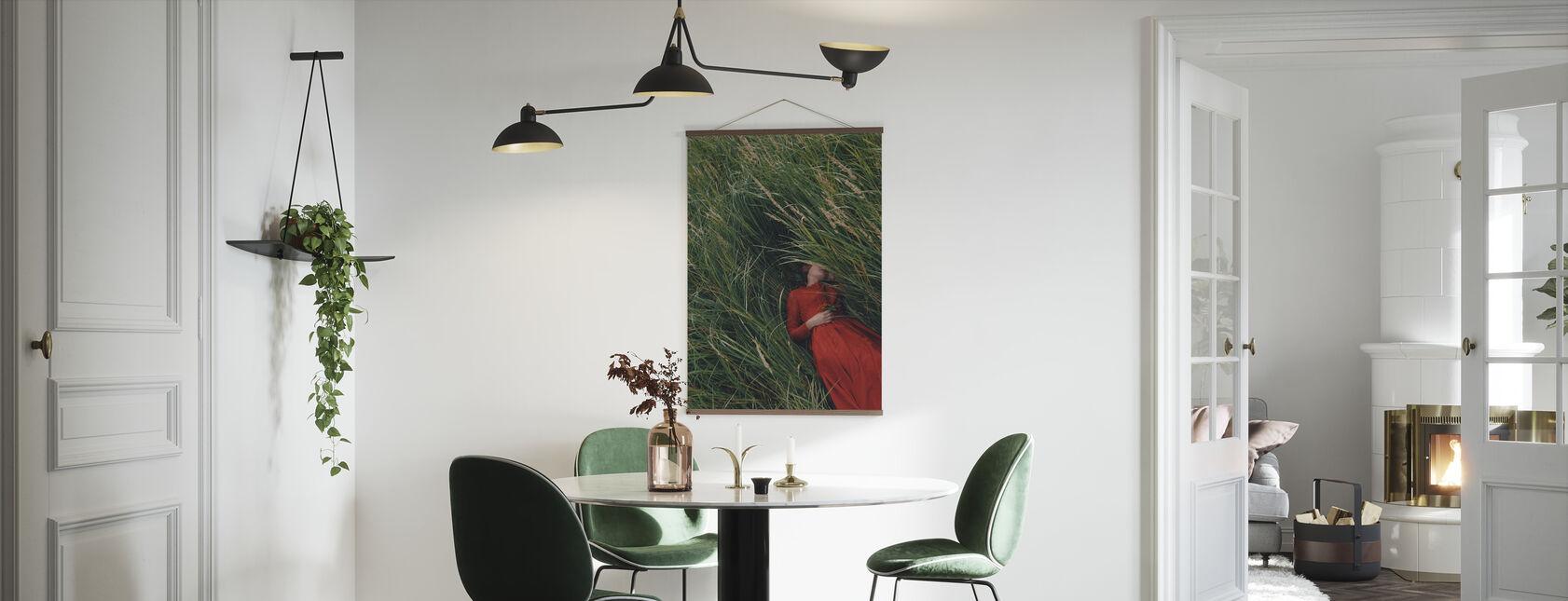 Sömnigt fält - Poster - Kök