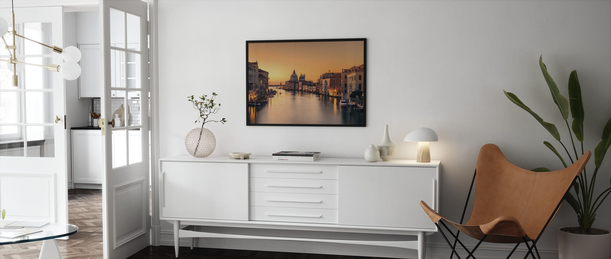 Dawn on Venice - Framed print - Living Room