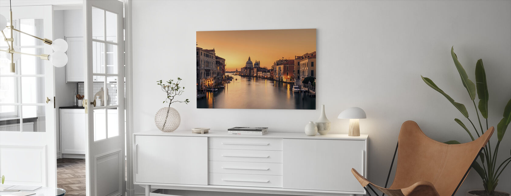 Daggry på Venezia - Lerretsbilde - Stue