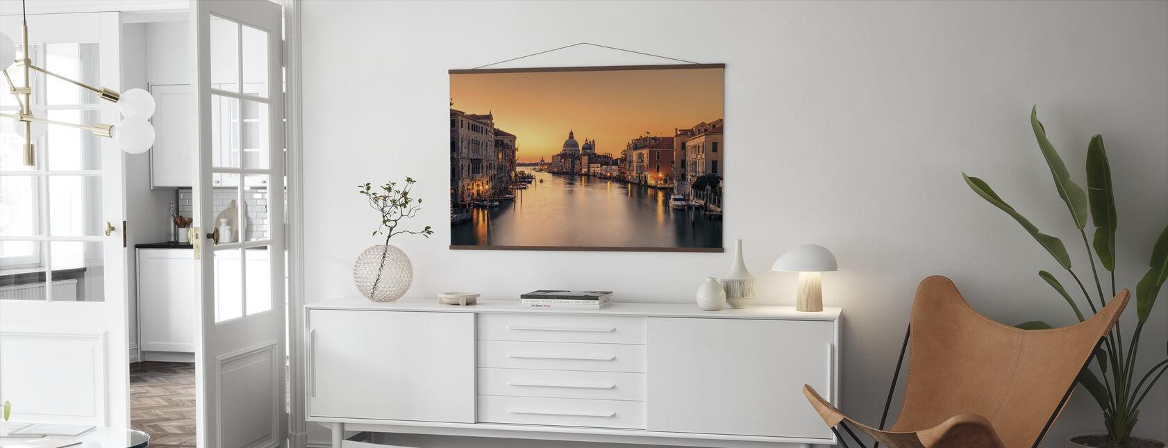 Dawn op Venetië - Poster - Woonkamer