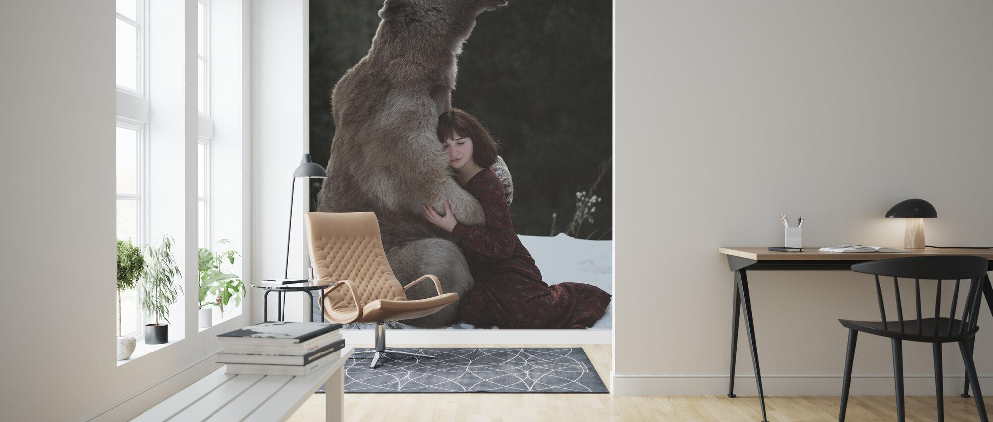My Big Friend - Wallpaper - Living Room
